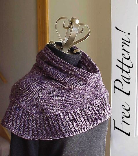 Free Knitting Patterns Neck Warmers Cowls : 79 best images about cowl on Pinterest Heidi may, Free pattern and Shawl