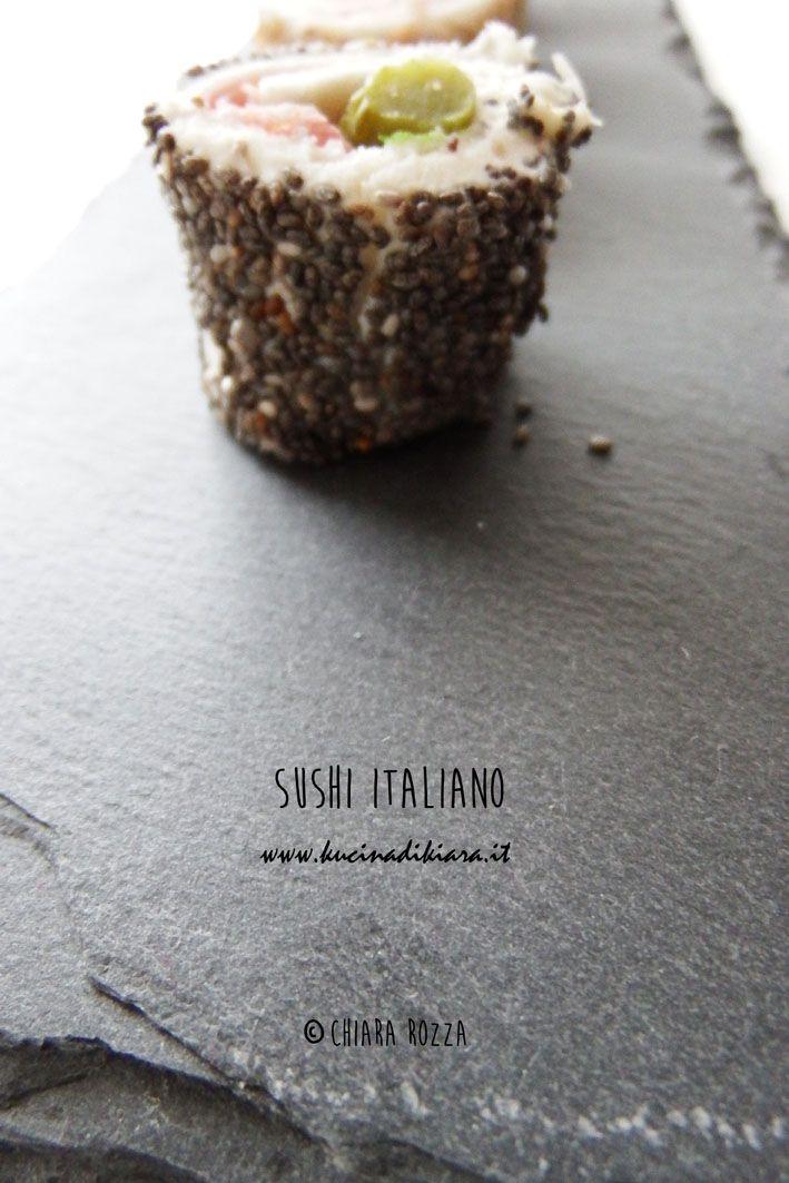 Kucina di Kiara: blog di cucina a cura di Chiara Rozza: Sushi italiano - atto II