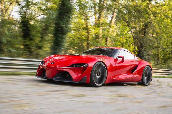 Toyota FT-1 Concept Car Gives Us Supra Dreams at 2014 NAIAS