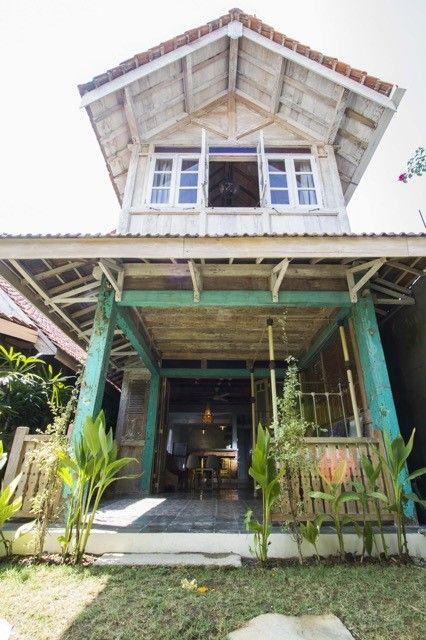 Old teak woods house in Roemah Peranakan Bali