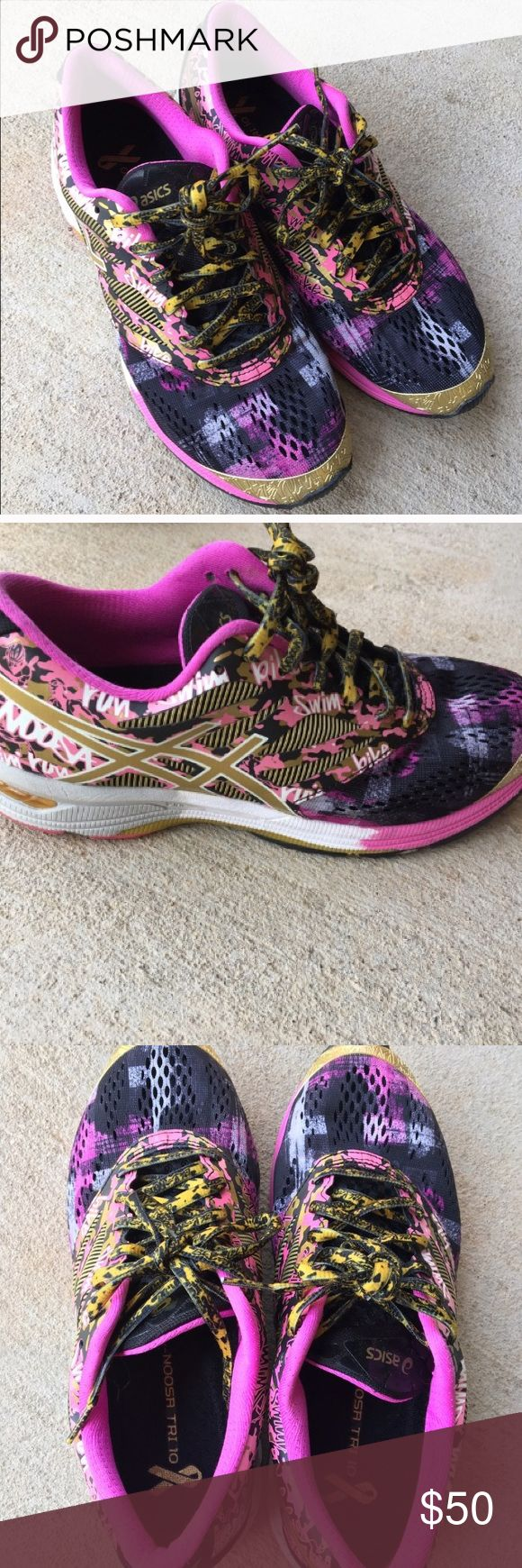 Asics Gel Noosa Tri 10 running shoe Asics Gel Noosa Tri 10 running shoe.                      Tag says size 9 but it runs small. I bought onPosh but they are too small for me. Asics Shoes Athletic Shoes