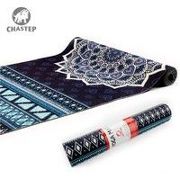 Wish | Easy to Fold Anti-slding Super Thin Travel Yoga Mat in PVC Materials 183cm*61cm 6mm Thickness