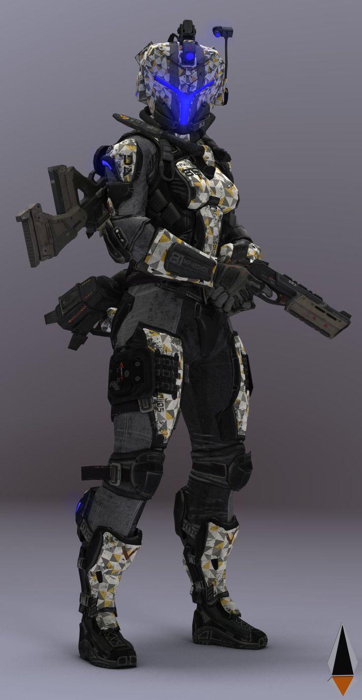 Female Pilot #6 Titanfall 2 by IamFile on DeviantArt in ...