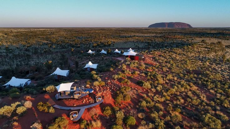 The newly refurbished Longitude 131 in Uluru, the ONLY place to be when visiting this spiritual landscape