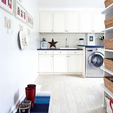 Une salle de lavage comme une cuisine - Salle de bain - Inspirations - Décoration et rénovation - Pratico Pratique