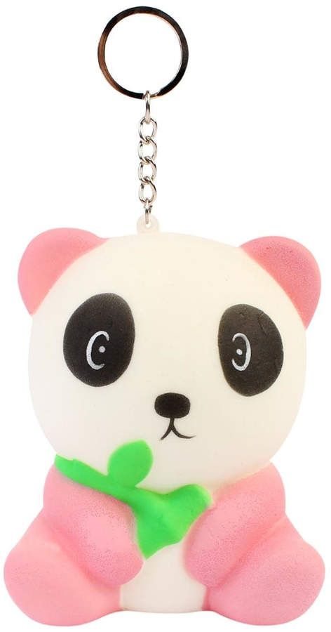 Riah Fashion Cute Squishy-Panda Keychain  playing start addictive ... 85f4292f68