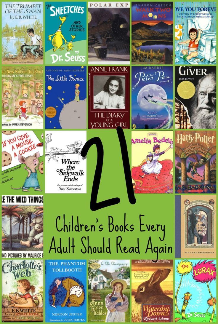 21 Children's Books Every Adult Should Read Again