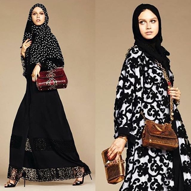 Dolce & Gabbana Debuts High End Hijab And Abaya Collection