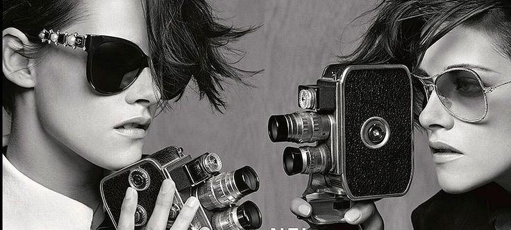 Kristen Stewart es la nueva imagen de gafas de Chanel