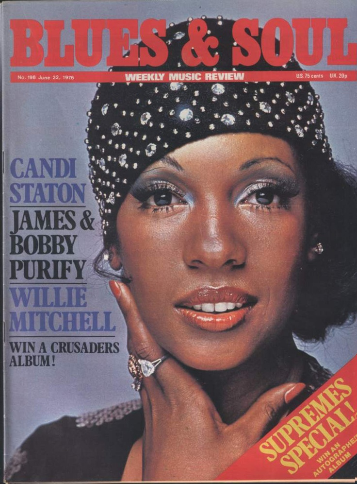 Blues & Soul, June 22, 1976 — Mary Wilson