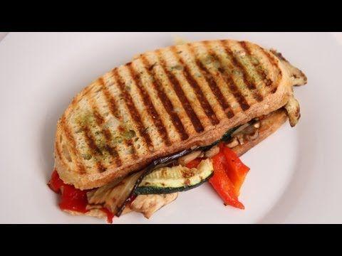 Grilled Veggie Panini Recipe - Laura Vitale - Laura in the Kitchen Episode 392
