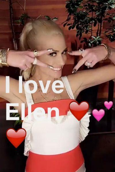 Gwen on Ellen