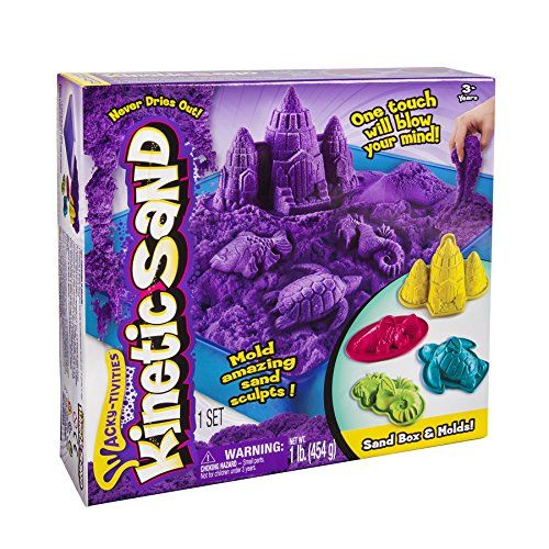 Best Toys for 7 Year Old Girls -  Kinectic Sand is so cool!