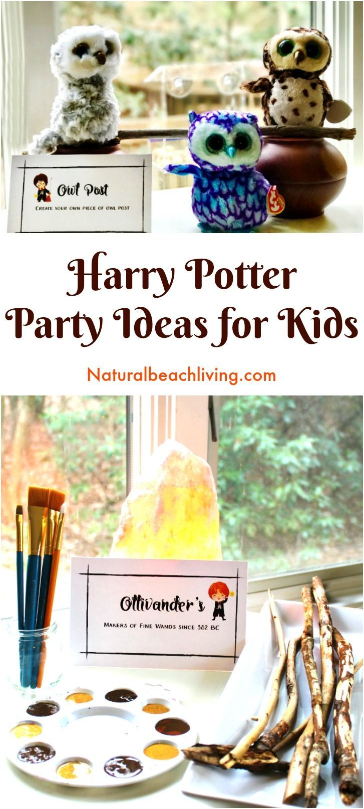 The Best Harry Potter Party Ideas and Printables for Kids, Harry Potter Activities, Kids party ideas, Birthday party ideas, Harry Potter Slime & More