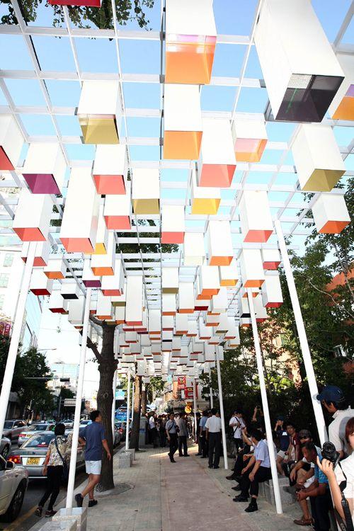 -roof design, canopy, light, metal