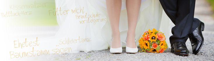 Lustige Spiele für die Hochzeit: Kennt ihr eure Gäste?