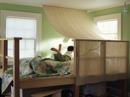 Forts, Tents & Other Indoor Playspaces. tent the upper bunk!