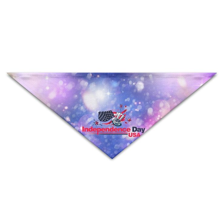 Cute USA Independence Day Magic Hat Flag Fire Triangle Scarf -- Quickly view this special dog product, click the image : Dog Bandanas