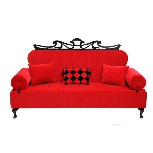 Sofa Artedeco Red