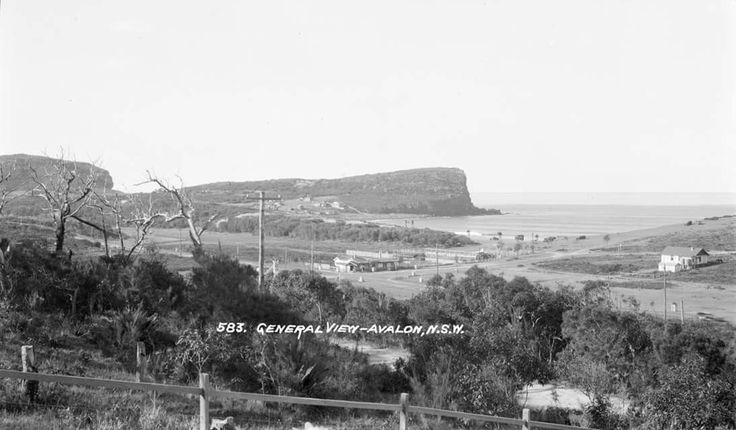 Avalon in the Northern Beaches region of Sydney in 1928.