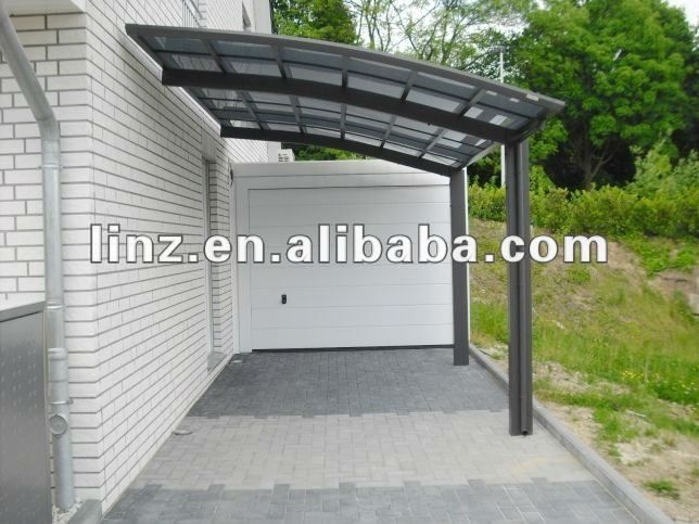 Aluminum handrail rail trellis awnings carports for sale - Garajes para coches ...