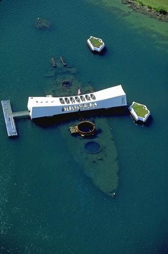 Oahu Photos at Frommer's - USS Arizona memorial. Very memorable and somber…