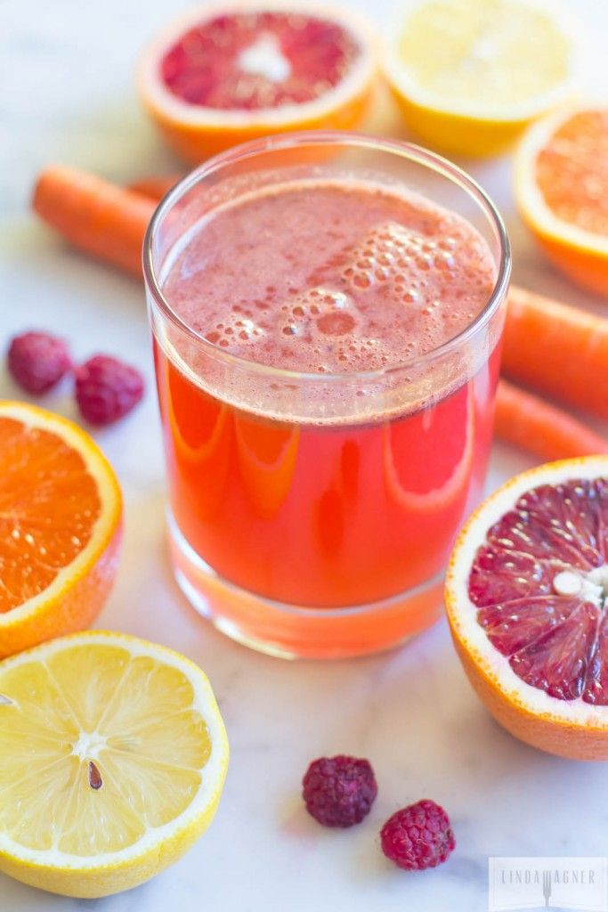 """This """"Beach Babe"""" juice aids in weight loss while acting as a detoxifier and appetite suppressant when drunk first thing in the morning."""