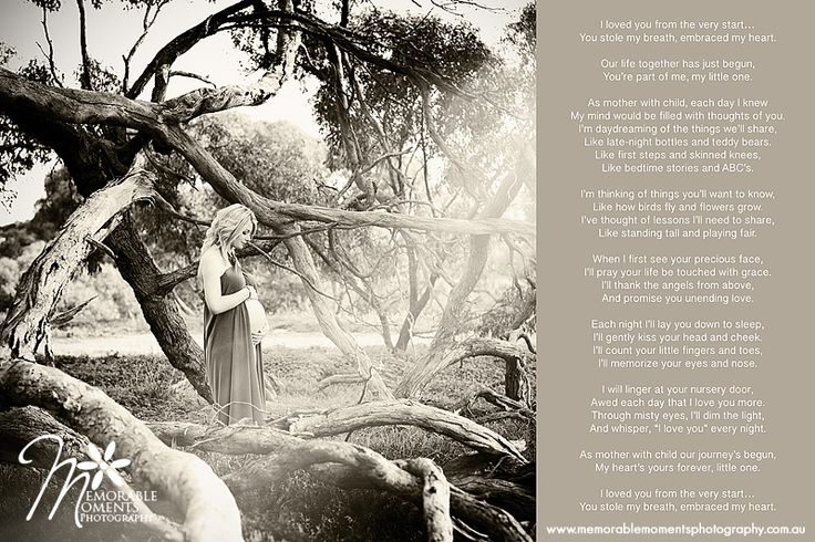 Amazingly beautiful pregnancy poem - maternity quote for photography