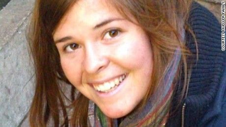 American ISIS hostage Kayla Mueller dead, family says The family of Kayla Mueller, an American woman held captive by the Islamist terror group ISIS, said Tuesday it has received confirmation that she is dead.