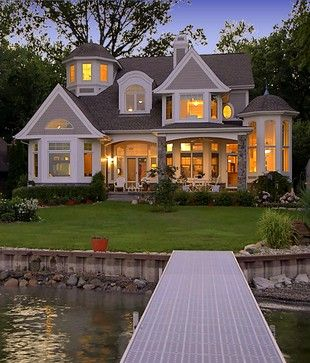 Lake Home Design Ideas, Pictures, Remodel, and Decor - page 4