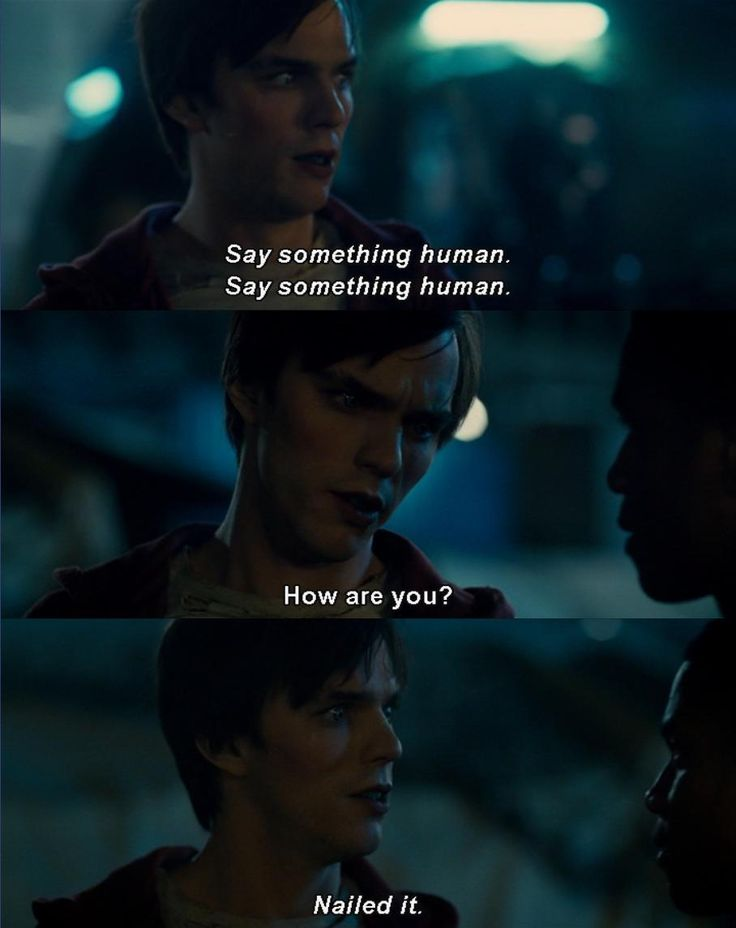 "Think this to myself every day... ""Say something human"""