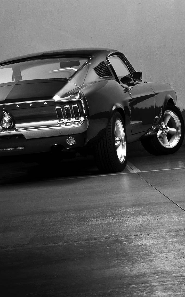 """h-o-t-cars:  """" Ford Mustang by Fabien Harrow  """""""