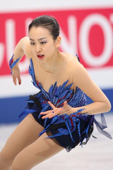 Mao Asada of Japan competes in the Ladies Free Skating during ISU World Figure Skating Championships at Saitama Super Arena on March 29, 201...