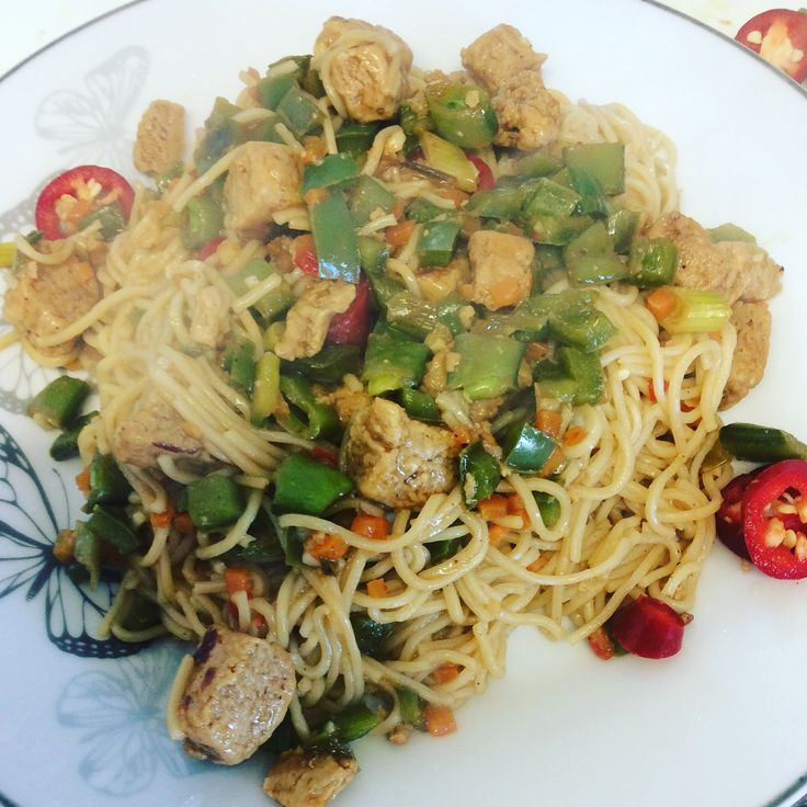 Quorn chow mein recipe - Slimming world