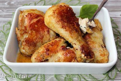 Di gotuje: Pieczony kurczak z rosołu