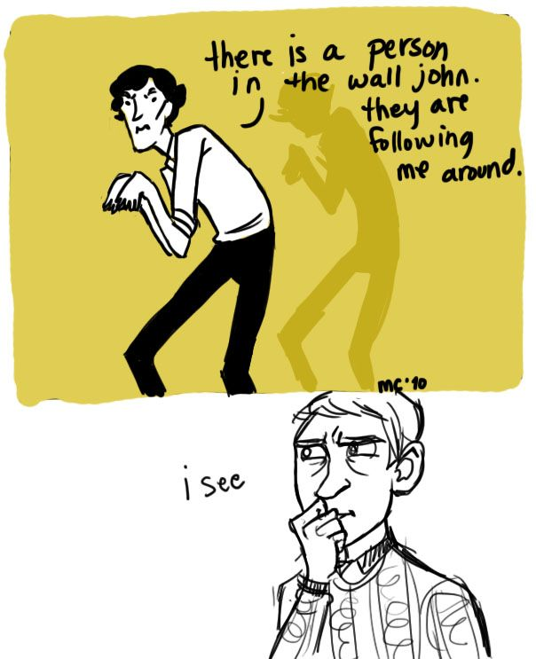 My Two Favorite Things Geek And Literature References Sherlock The Yellow Wall