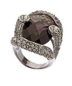Black Diamond Ring@Kayla Batt  so could see you wearing this!!