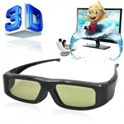 $23.19 GX-20 Universal Comfortable 3D Active Shutter Glasses for 3D TVs #electronic
