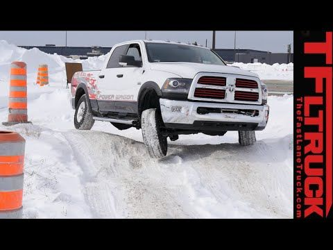 2015 Ram 2500 HEMI Power Wagon Cold Steel on Ice: 3 Locking Differential...