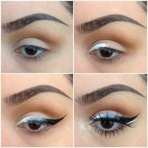 Ombre Gray Eyeliner Tutorial - USA Fashion Trends