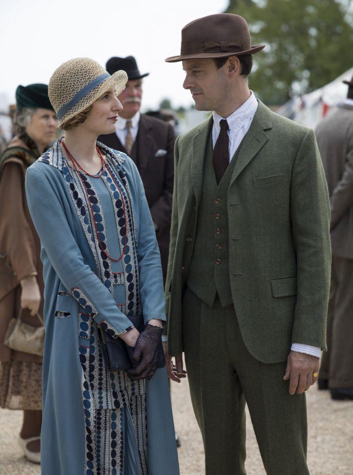 Downton Abbey Season 6 - 7 .. Edith ..