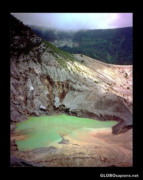 Yogyakarta Indonesia - Tangkuban Perahu crater, near Bandung