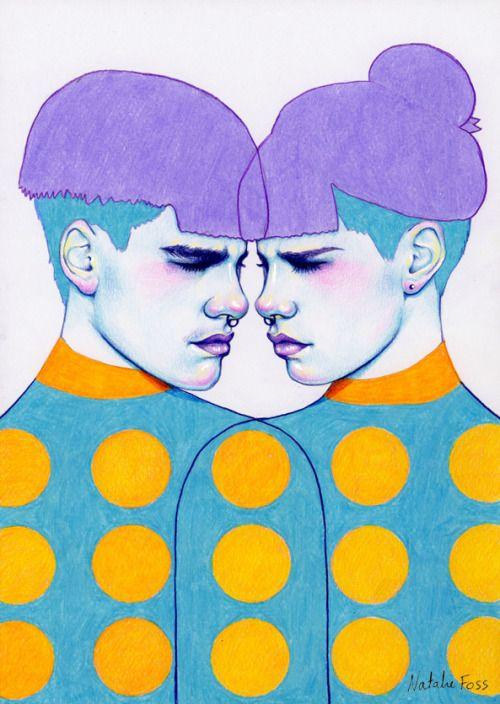 Natalie Foss - Illustrator and artist based in Oslo, Norway. Unisex