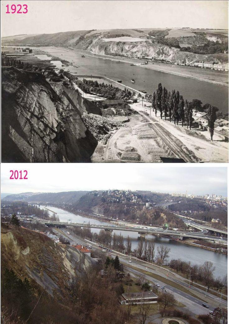 Přehled srovnávacích fotek: Praha