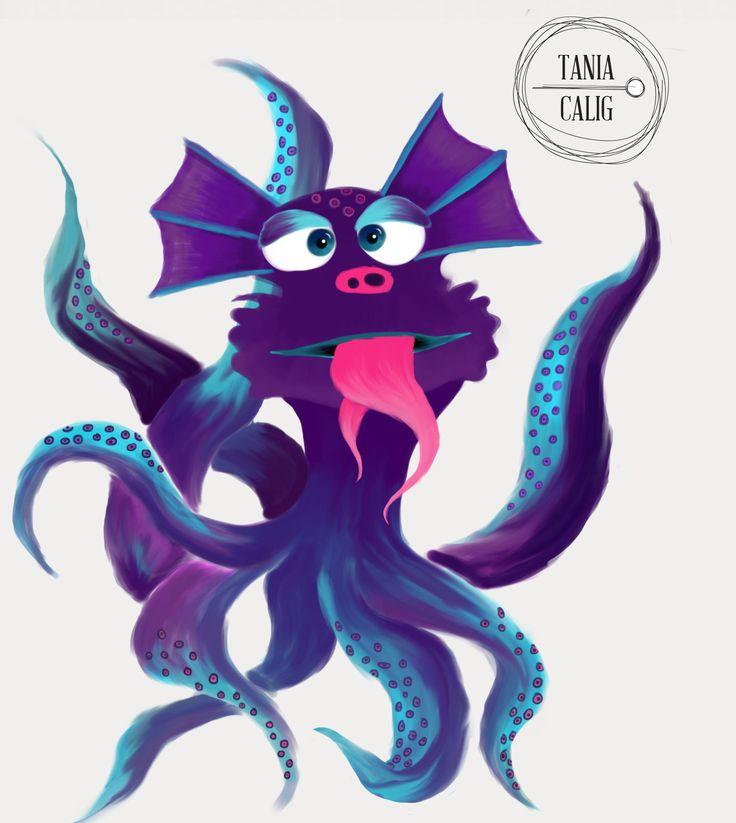 a little monster for kids