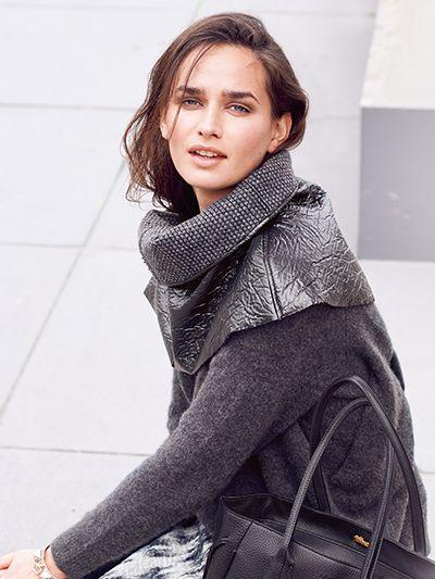 Poderosa e atual, a moda de cortes largos, com tecidos grossos e texturados, trafega entre o feminino e o masculino, o elegante e o informal
