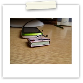 Small hand-made notebook