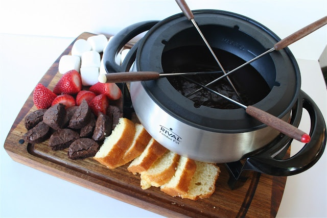 Nutella and Chocolate Fondue Recipe