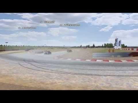 SimRacing (rFactor VRX Rallycross) - YouTube