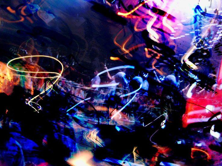 "#photo of my ""demaged"" camera # concert, #digital art"